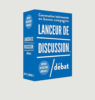 Jeu de cartes Lanceur de discussion - Débat