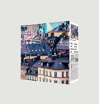 Puzzle toits parisiens