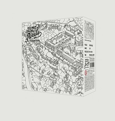 Puzzle - Croquis ville