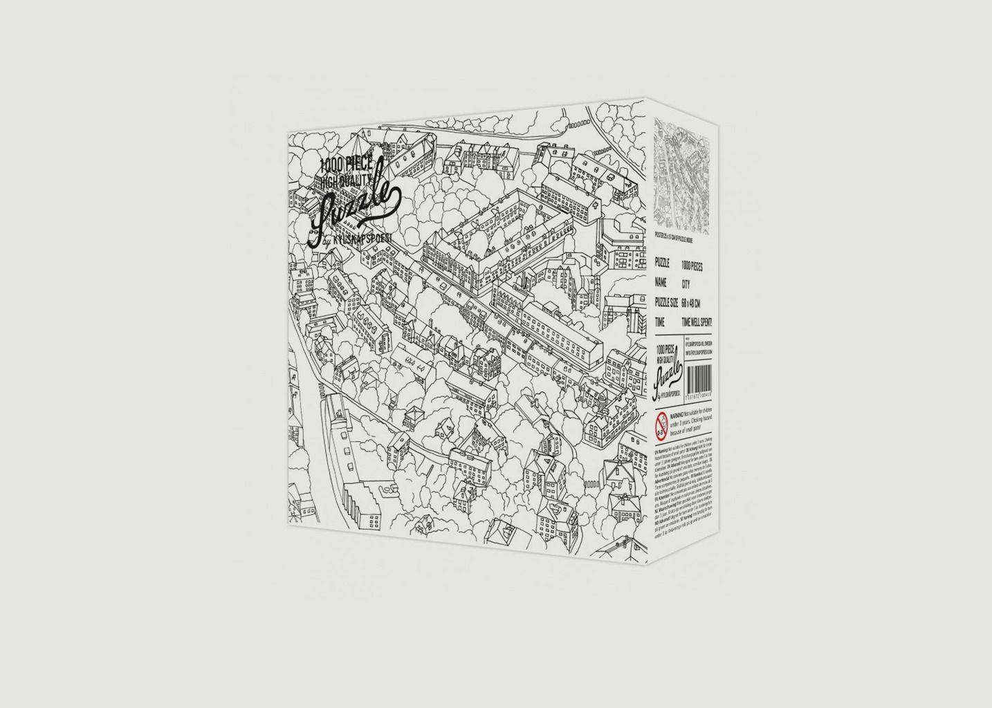Puzzle - Croquis ville  - Hygge Games