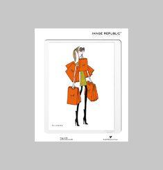 Orange Bags Poster