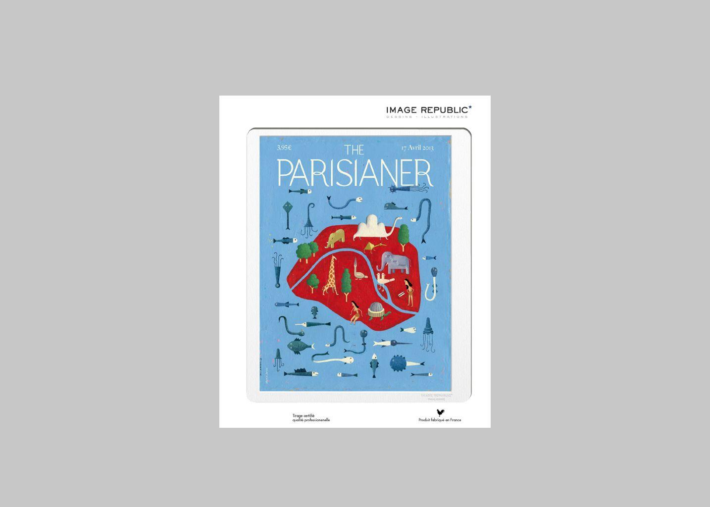 Affiche The Parisianer N°28 Jarry - Image Republic