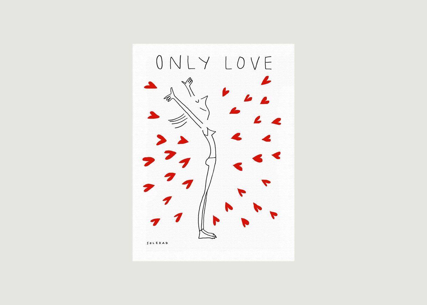 Affiche Soledad Only Love - Image Republic