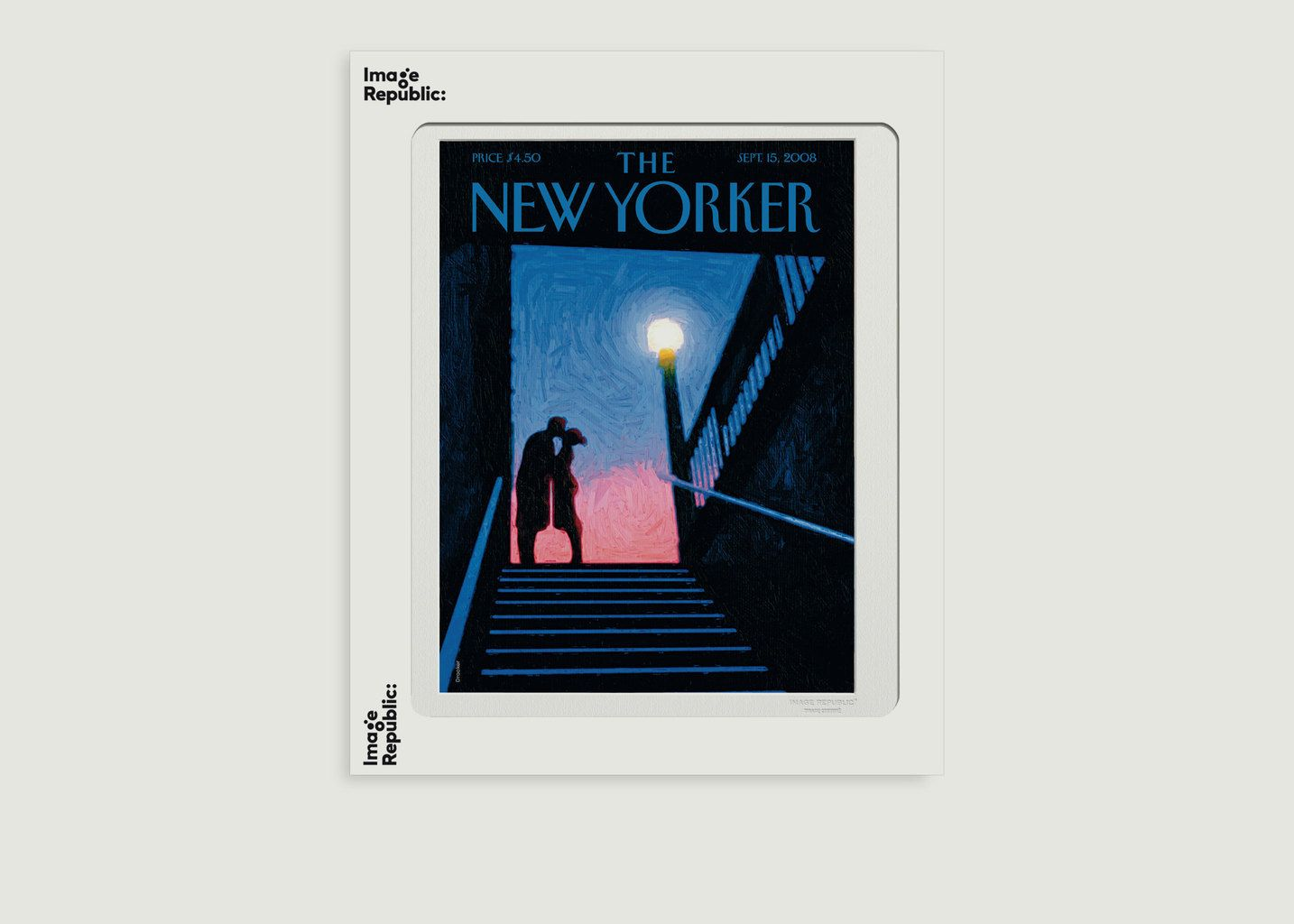 Affiche The New Yorker 106 Drooker NYC Moment - Image Republic