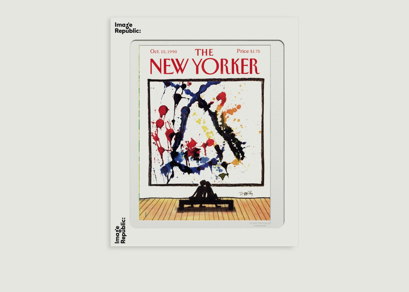 Affiche The New Yorker 129 Reilly World Changers - Image Republic