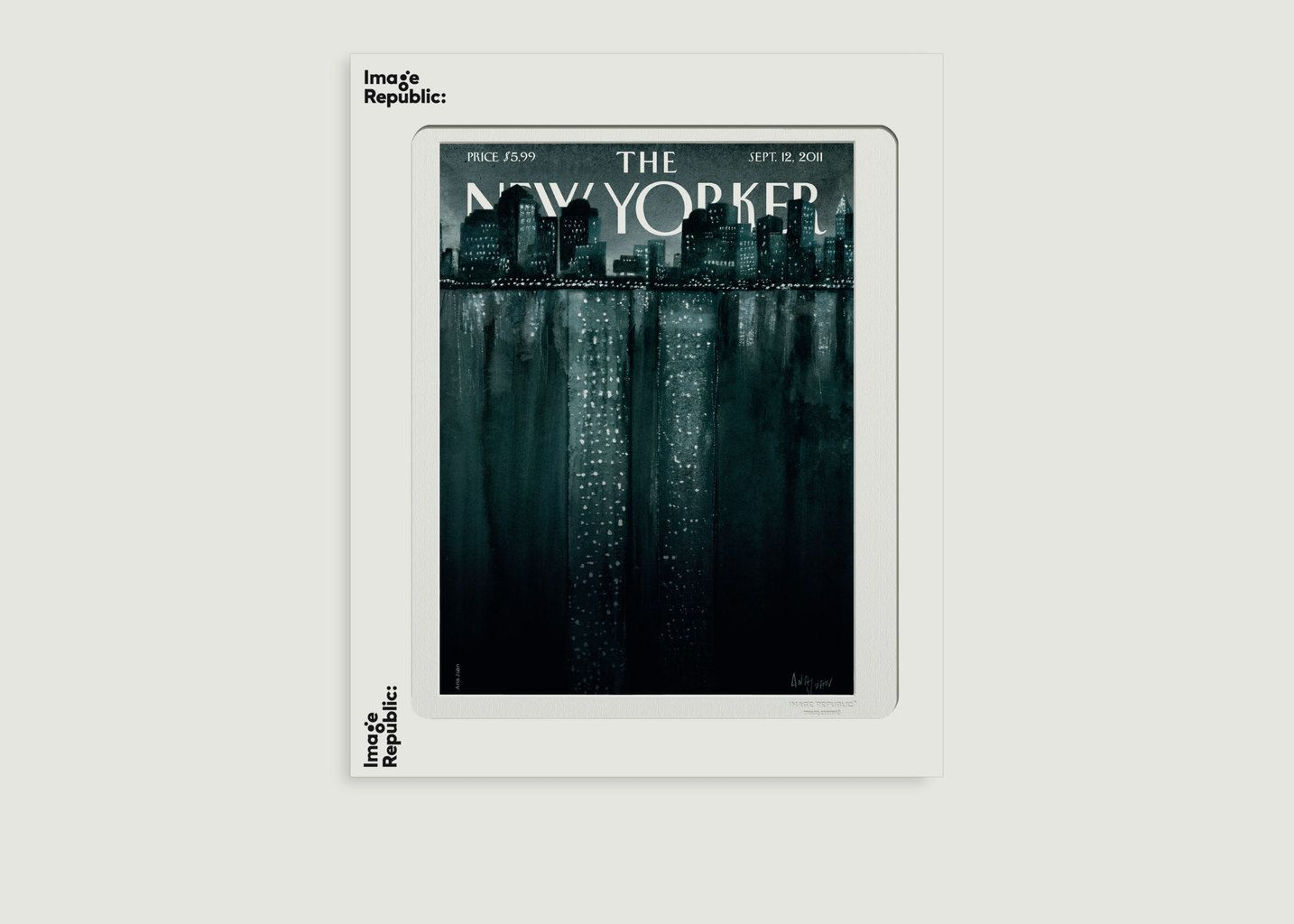Affiche The New Yorker 22 Juan - Image Republic