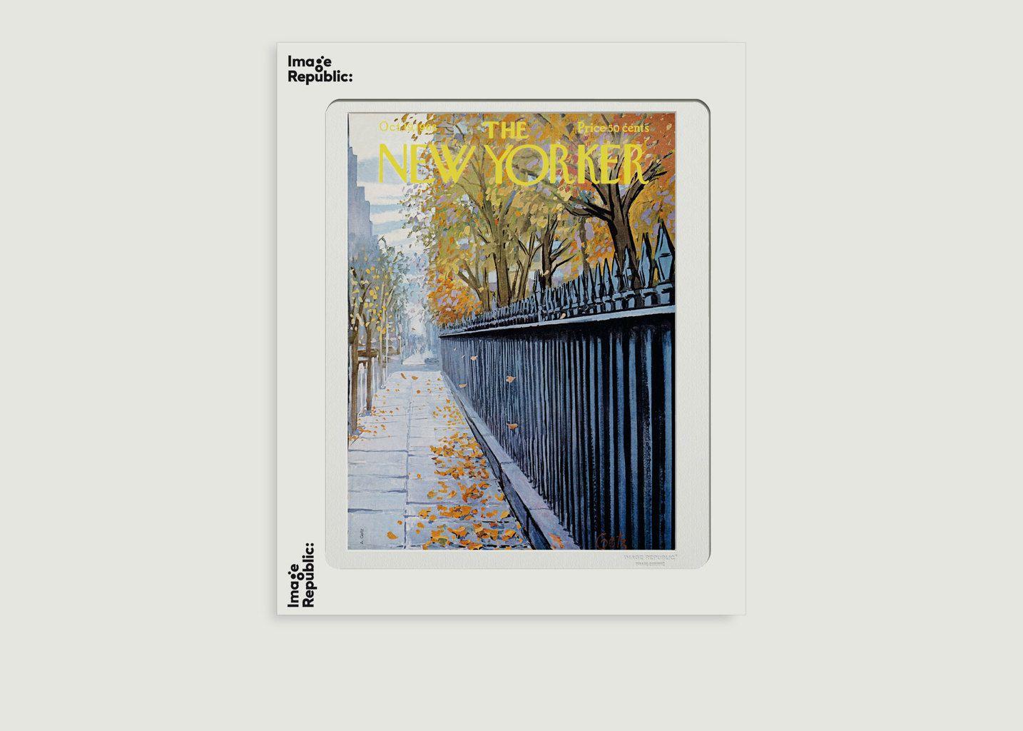 Affiche The New Yorker 77 Getz Autumn 1968 - Image Republic