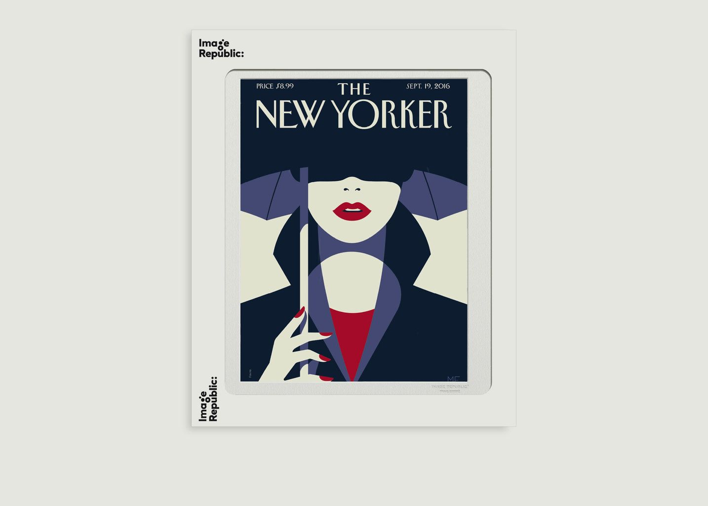 Affiche The New Yorker 85 Favre In The Shade - Image Republic