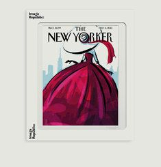 Affiche The New Yorker 94 Schossow Fashionista