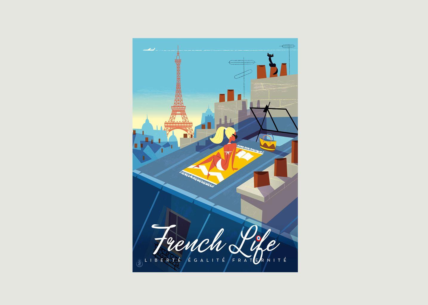 Affiche Monsieur Z French Life - Image Republic