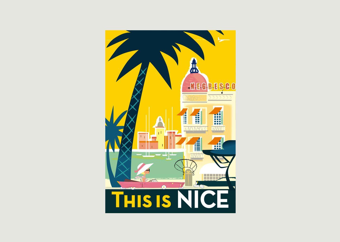 Affiche Monsieur Z Nice - Image Republic
