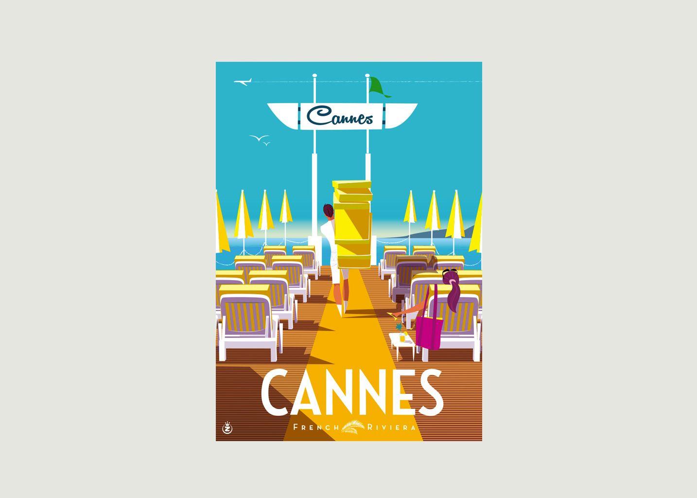 Affiche Monsieur Z Cannes Ponton - Image Republic