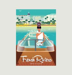 Monsieur Z French Riviera Poster