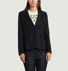 Nicole Striped Blazer