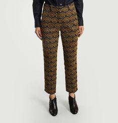 Audrey Jacquard Trousers