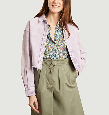 Milou tinted denim oversized shirt