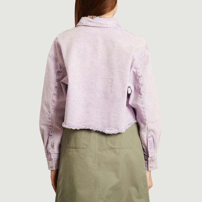 Milou tinted denim oversized shirt - IRO