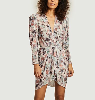 Forrie long sleeves printed dress