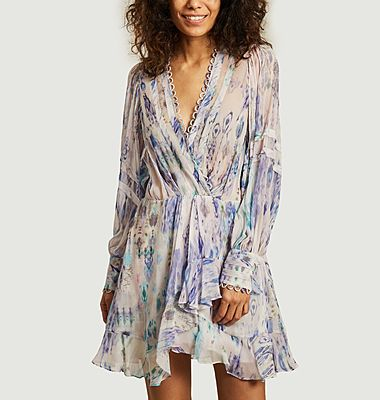 Kolmi printed long sleeves dress