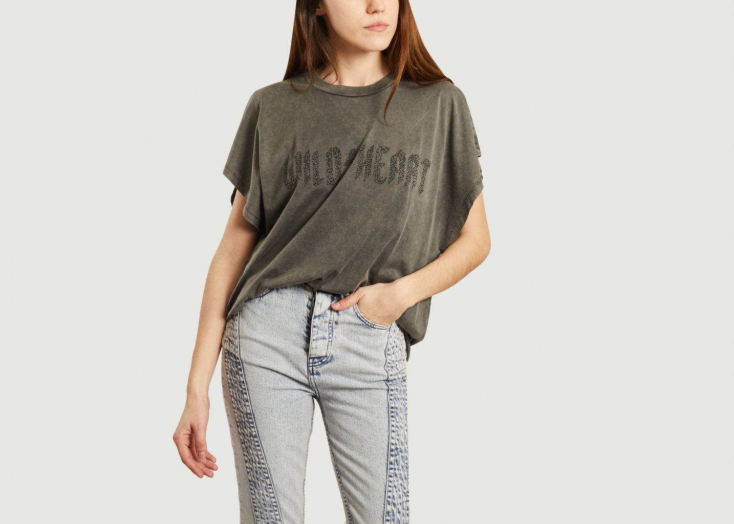 T-shirt à lettrage Wilde - IRO