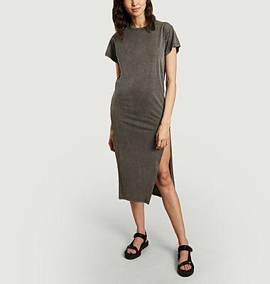 Robe t-shirt longue en coton Elisha