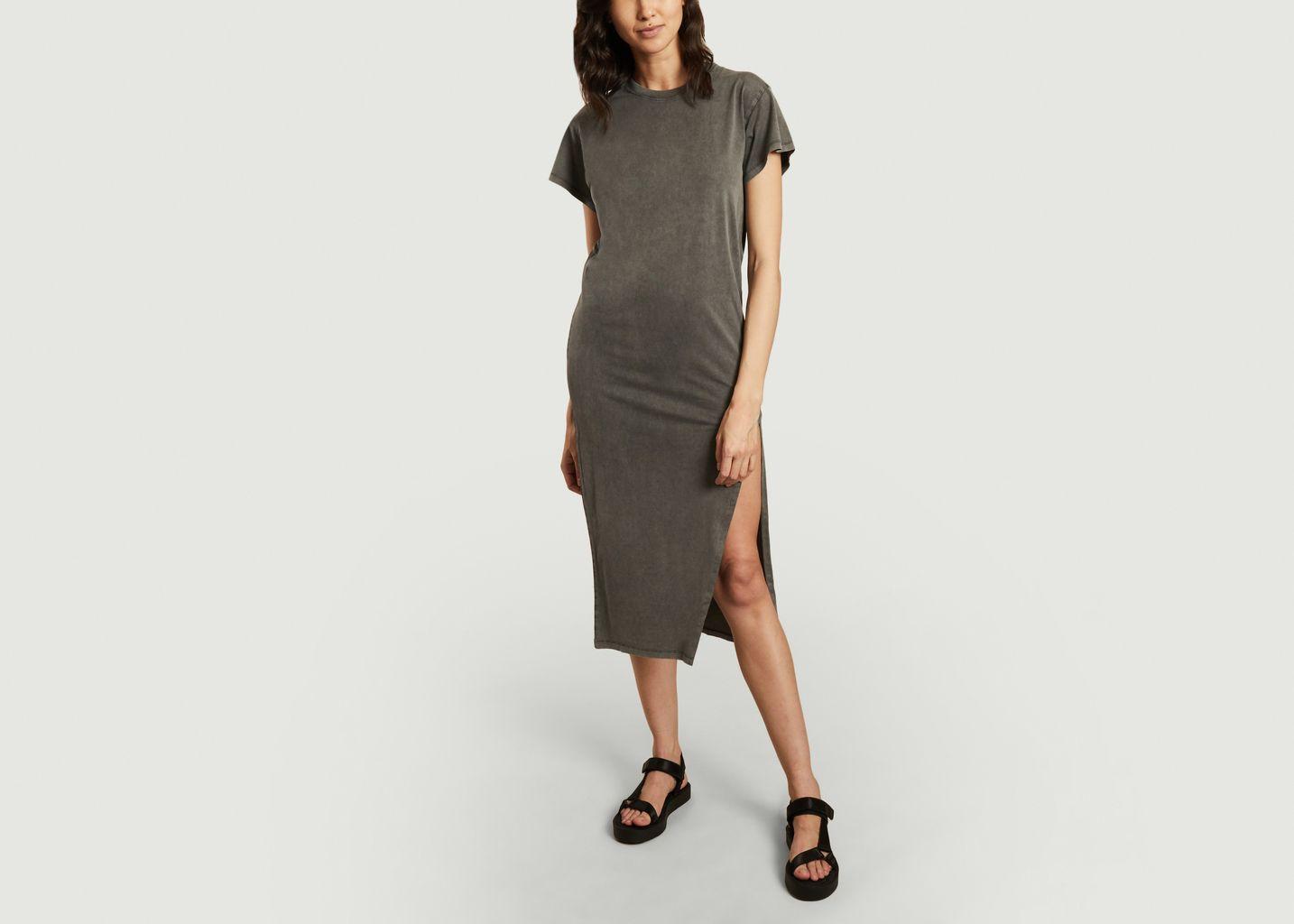 Robe t-shirt longue en coton Elisha - IRO