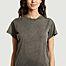 matière Robe t-shirt longue en coton Elisha - IRO