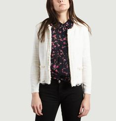 Veste Wondrous en Tweed