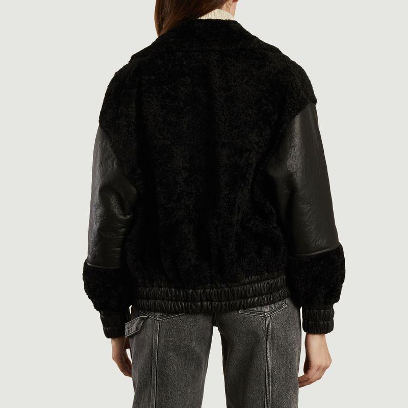 Veste de peau lainée Hotaro - IRO