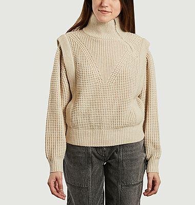 Macky Pullover mit hohem Kragen