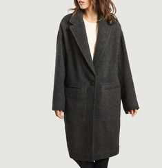 Oversized Wire Coat