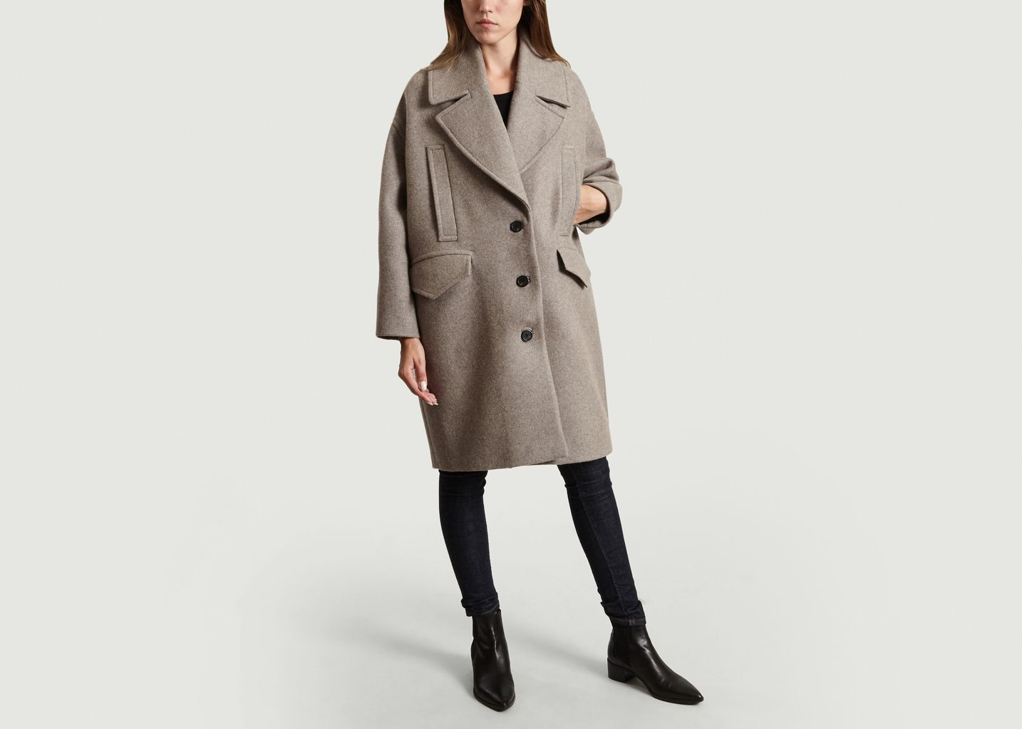 fast delivery great deals new release Manteau Oversized Ares