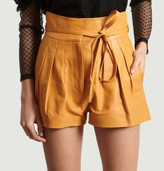 Tenacity Leather Shorts