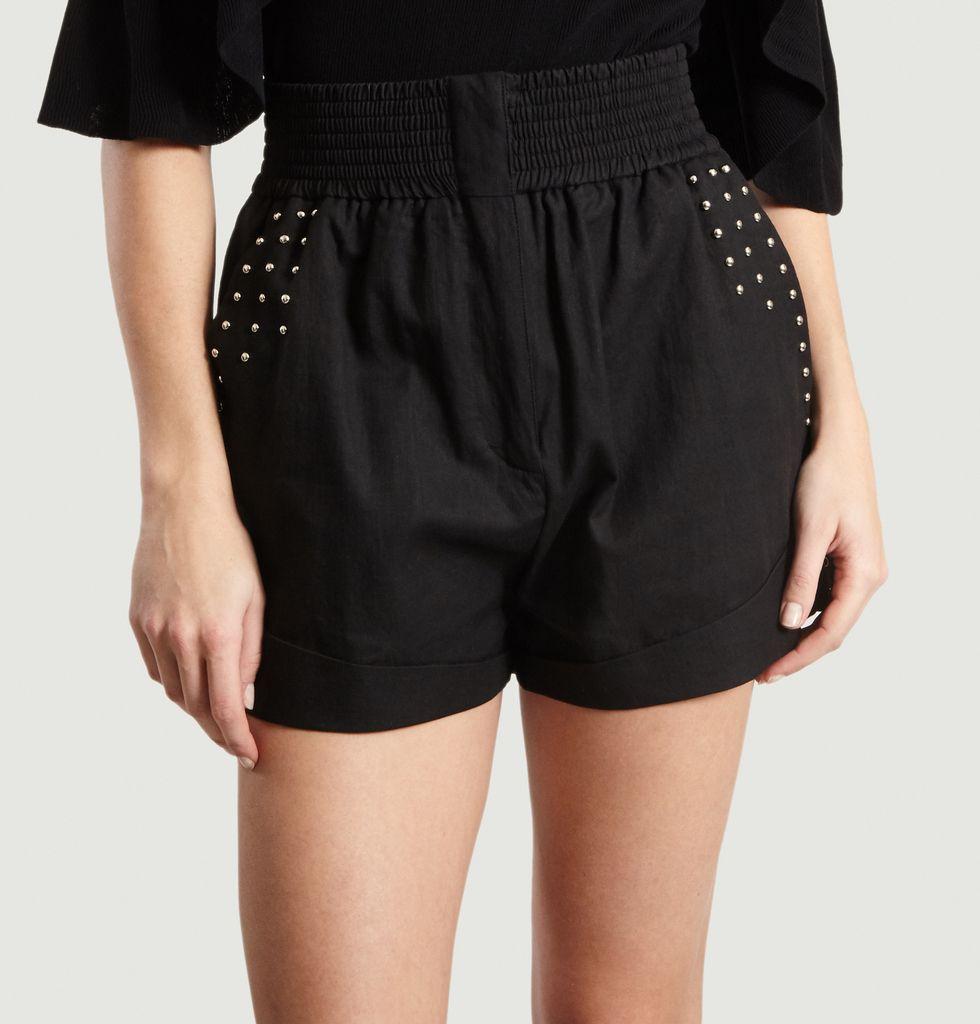 Lavishly Shorts Lavishly Black Shorts Iro ParisL'exception N0m8nvwO