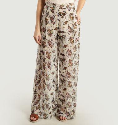 Pantalon Motif Fantaisie Magnolia