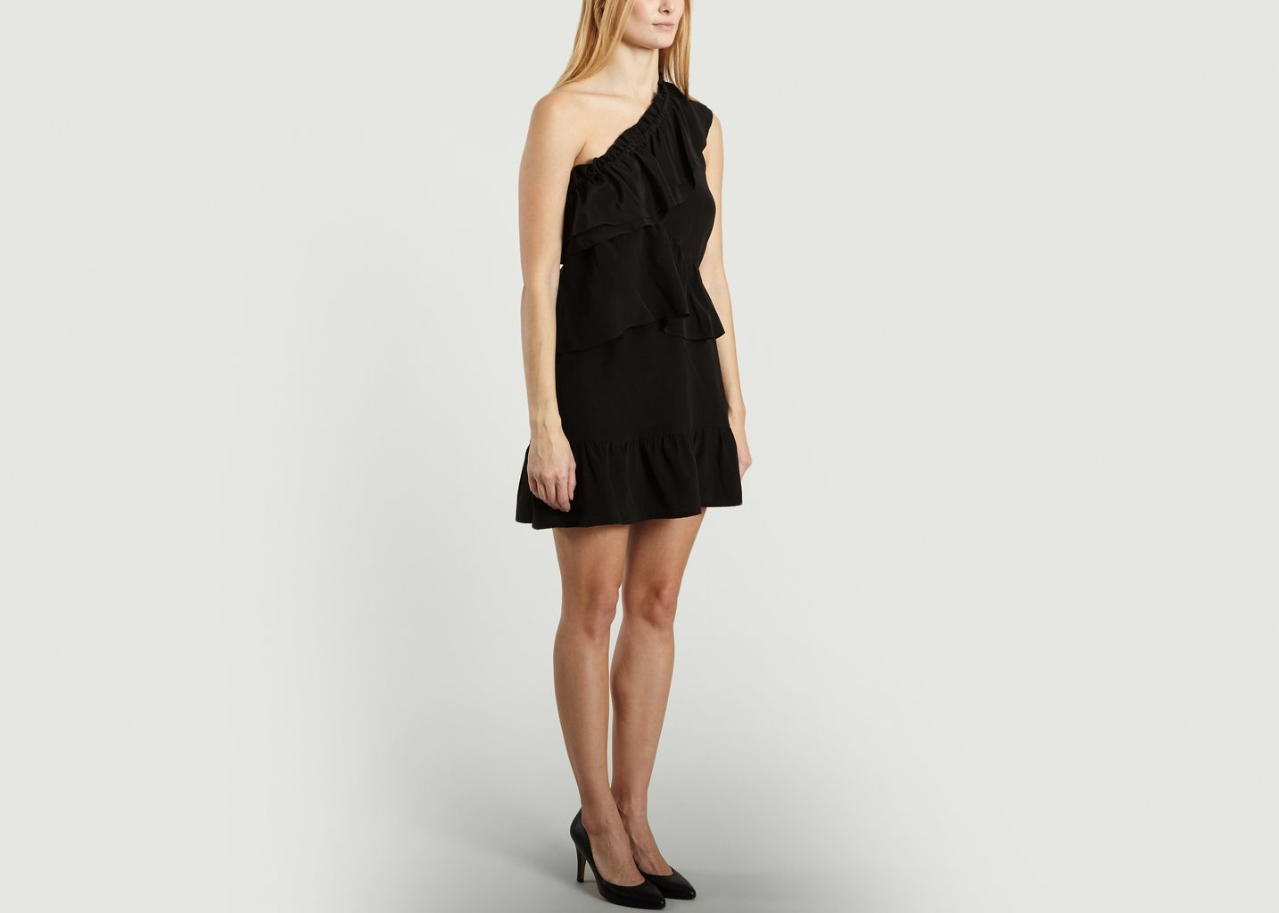 Brooka Dress Iro Black L Exception