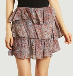 Ivona Ruffle Mini Skirt