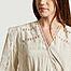 matière Robe manches longues avec dentelle Cassie - IRO