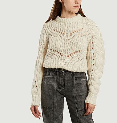Quane durchbrochener Pullover