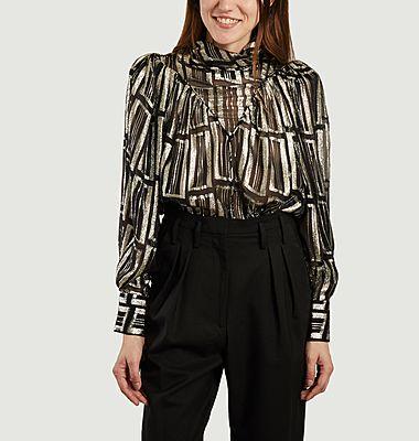 Claireta blouse in lurex
