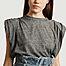 matière T-shirt avec épaulettes Gotame - IRO
