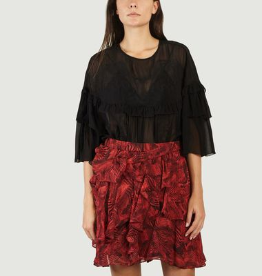 Top A Broderie Anglaise Sude
