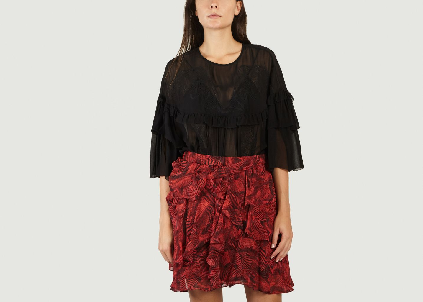 Top A Broderie Anglaise Sude - IRO