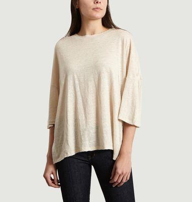 T-Shirt Sturdy Oversized en Lin