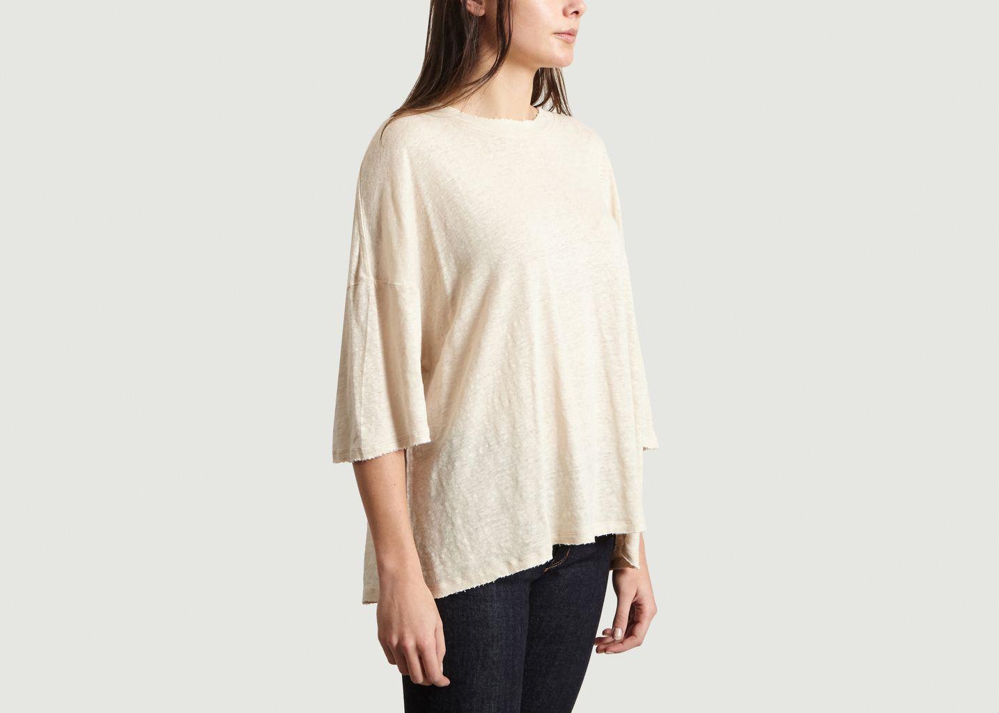 T-Shirt Sturdy Oversized en Lin - IRO