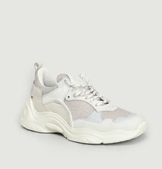 Sneakers Curve Runner White