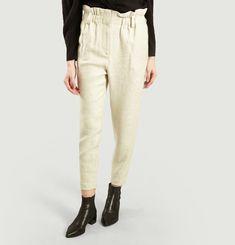 Linen Blend Kaly Pants