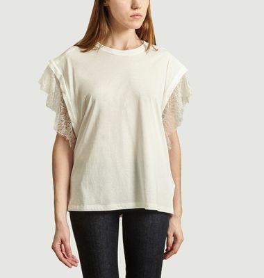 T-shirt avec dentelle Dunes