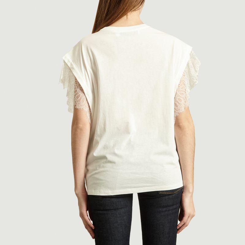 T-shirt avec dentelle Dunes - IRO