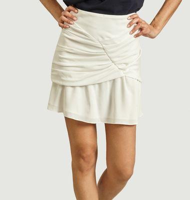 Mini jupe drapée Lussac